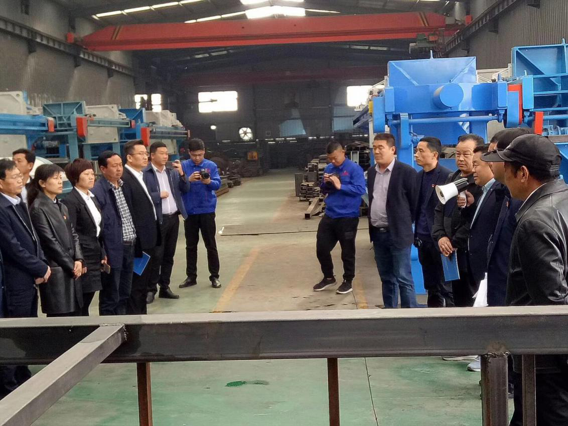 The Delegation Of Leaders From Yuzhou City Came To Visit Our Company For Inspection And Guidance