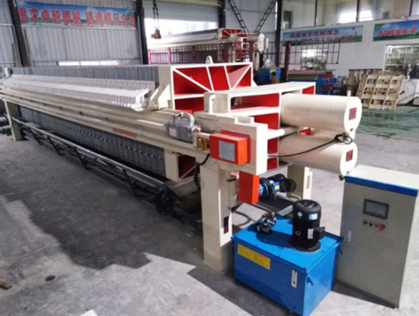 Automatic Plate Pulling Membrane Filter Press