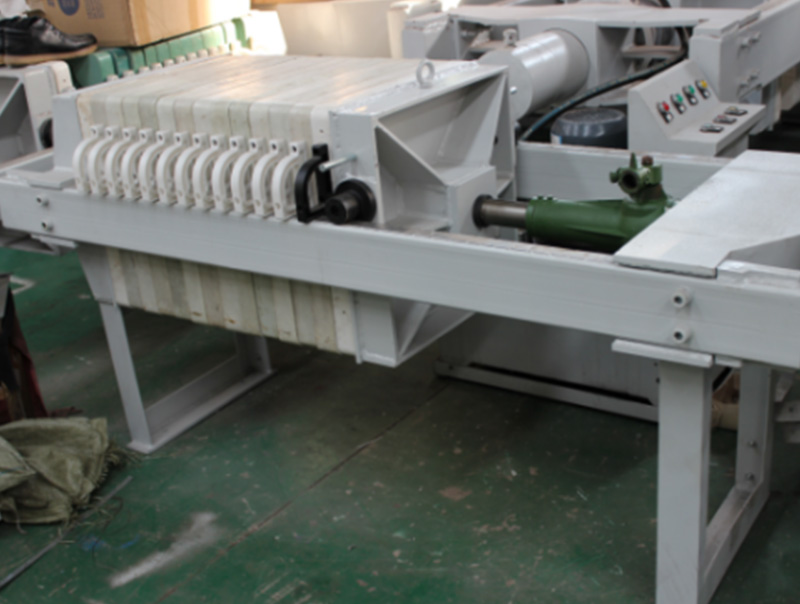 Plate and Frame Jack Compacting Filter Press