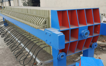 High Pressure Membrane Filter Press