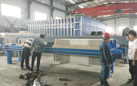 The CEO Chiu Jung-kuan of Shan Ya Environmental Technology Co., Ltd...