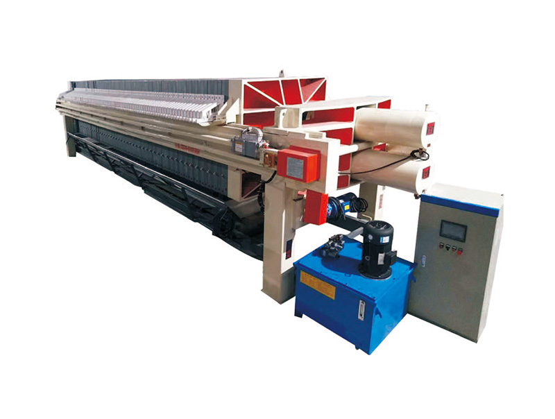 High Pressure Membrane Filter Press With Sludge Transport