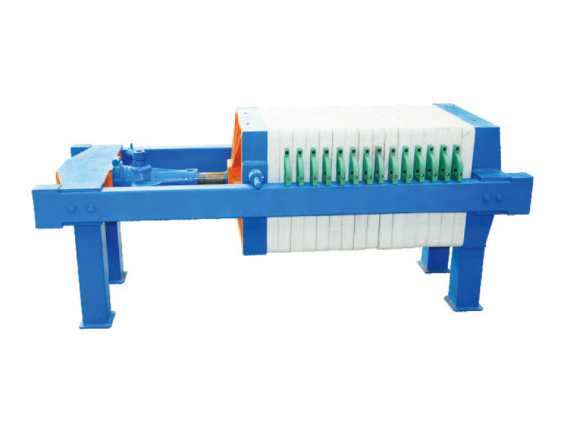 Chamber Jack Compacting Filter Press