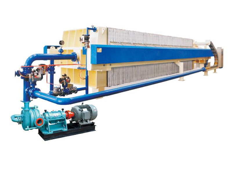 Automatic Remote Control Filter Press