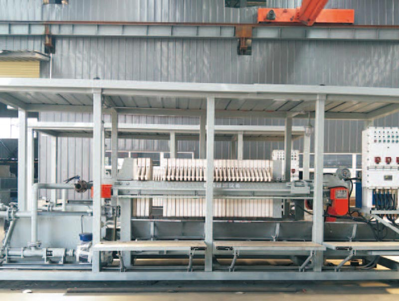 Vehicle Mounted Filter Press