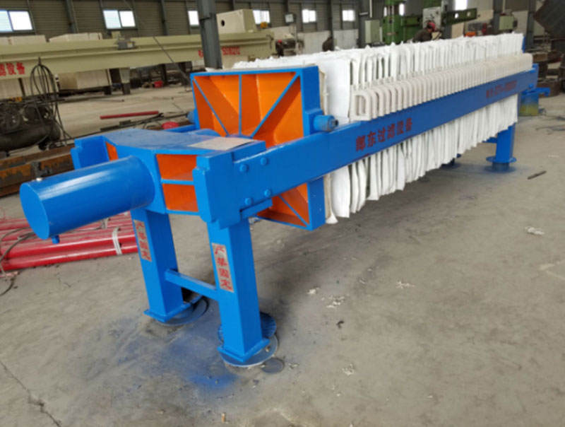 Plate and Frame Automatic Pressure Maintaining Hydraumatic Compacting Filter Press