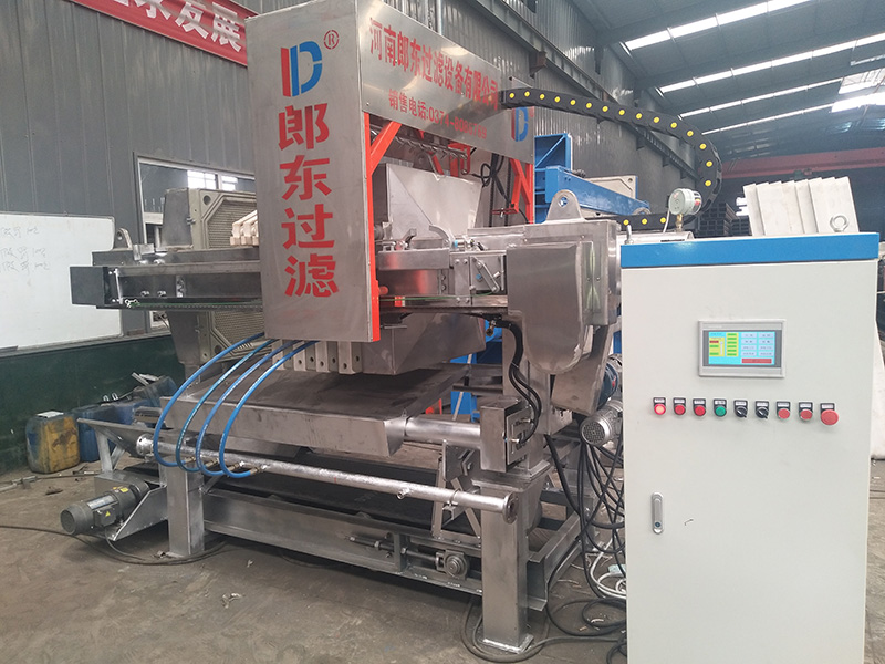stainless steel anti-corrosion membrane filter press