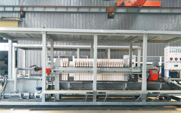 How Is The Dewatering Filter Press Dehydrated?